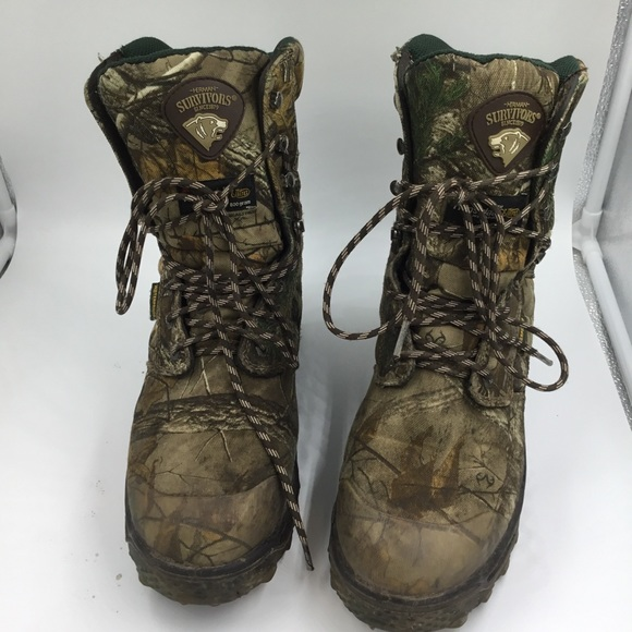 0c19bafa3fc5b8 herman Survivor Shoes   S Camo Outdoor Hunting Camp Boots   Poshmark